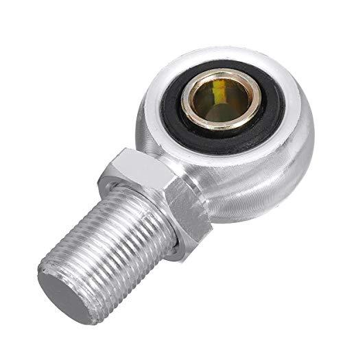 Kupplung Bremshebel Für Auge Adapter Ende for 280mm 320mm 380mm 400mm Stoßdämpfer Motorrad Roller (Farbe : Silver)