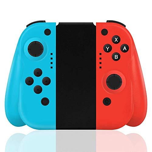 TUTUO Wireless Controller per Nintendo Switch, Bluetooth Joystick Gamepad Sostituzione per Joy con Compatibile con Nintendo Switch PRO - Supporto connessione cablata