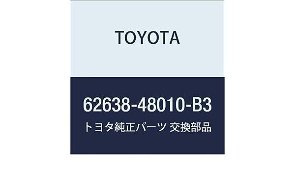 Toyota 62638-48010-B3 Quarter Pillar Garnish