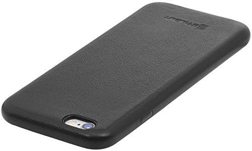 StilGut Premium cover, coque en cuir nappa pour iPhone 6s, édition LIKE BERLIN, noir nappa Noir nappa