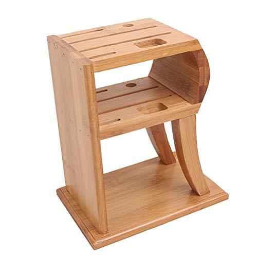 BESTONZON Besteckblock, Küchenutensilien, Aufbewahrungsbox, Bambus-Form, Besteck, Besteck, Besteck, Präsentationsständer