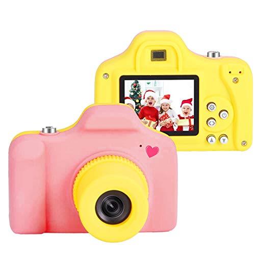 Macchina Fotografica Bambini con 16GB scheda sd Compatte Fotocamera Bambini Digitale Giocattolo Mini kids camera con LCD 1.5 pollici/5MP/HD1080p Fotocamere REGALO natale compleanno bambini 5 4 3 anni