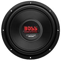 BOSS Audio Systems CH12DVC 1800 Watt, 12 Inch, Dual 4 Ohm Voice Coil Car Subwoofer