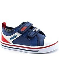 d04544de5c52 Primigi 3445455 Blu Scarpe Bambino Strappo Sneakers Basse Tessuto