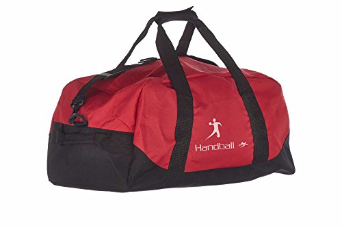 Kindertasche NT5688 rot/schwarz Handball