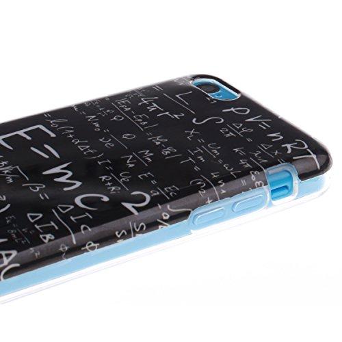 ZeWoo TPU Schutzhülle - TX012 / Eine mathematische Formel - für Apple iPhone 5C Silikon Hülle Case Cover TX012 / Eine mathematische Formel
