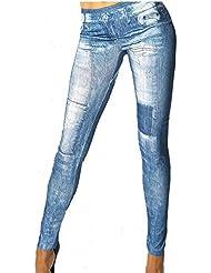 Jeans Look Leggings Jeans Destroyed Look Hose