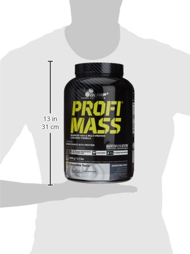 Olimp Profi Mass - Gewichtszunahme, Geschmack Schokolade, 1er Pack (1 x 2.5 kg) - 4