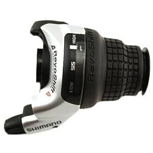 41Pk64LuiUL. SS300 Shimano Comandi Cambio Tourney Sl-Rs45 Revoshift 3X8 velocità (Comandi MTB)