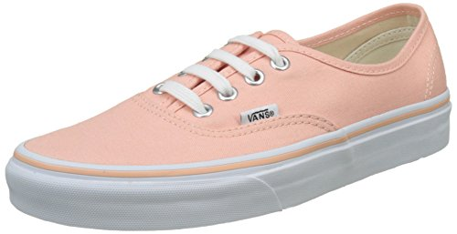 Vans Ua Authentic, Zapatillas para Mujer, Rosa (Tropical Peach/True White), 38 EU