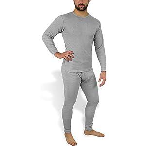 Wärmende Herren Thermounterwäsche – Thermohemd und Thermohose – Ski- und Sport Unterwäsche