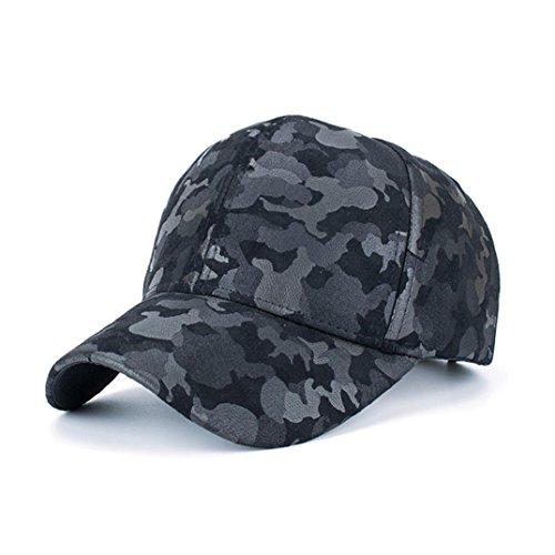 Die Zeit Kinder-baseball-jersey (KanLin Camouflage Baseball Cap, Corduroy Baseball Cap Snapback Hip Hop Hat (Black))