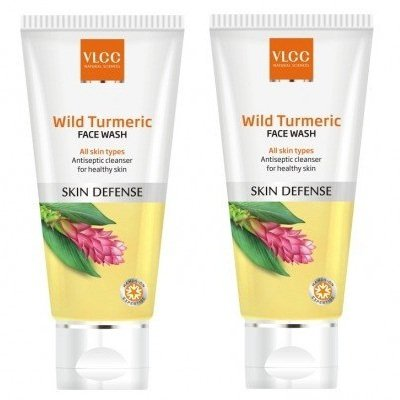 VLCC Natural Sciences Wild Turmeric Face Wash, 80ml (Pack of 2)