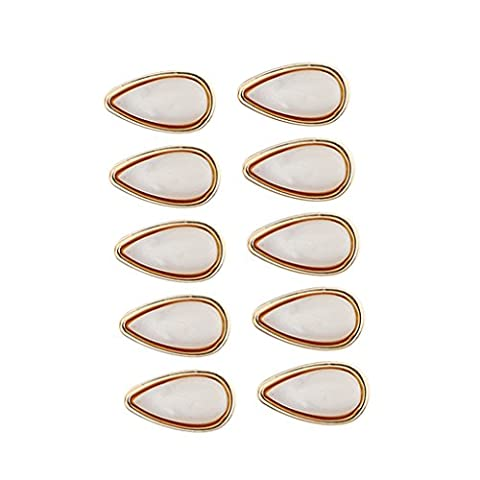 MagiDeal 10 Pieces Opals Eyeglasses Nose Pads Optical Sunglasses Pink