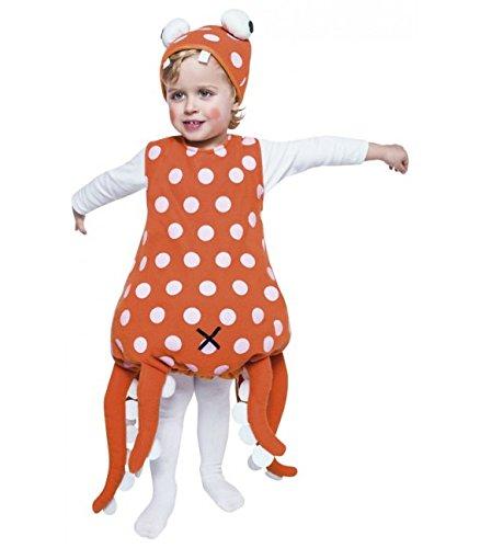 Imagen de disfraz de pulpo rojo  3 4 años