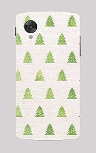 Back Cover for Nexus 5 Christmas Tree