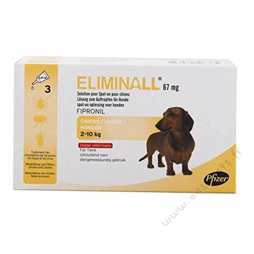 Eliminall Hund S (2-10kg) 6 pip.