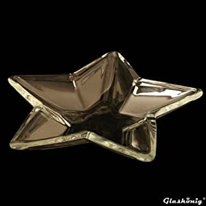 Bol en forme d'étoile :  4,5 cm ø 34 cm