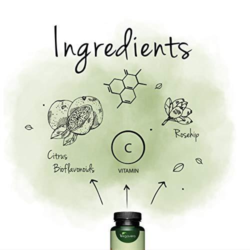 Zoom IMG-2 vitamina c 1000 mg vegavero
