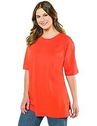 Ulla Popken Rundhals, Camiseta para Mujer