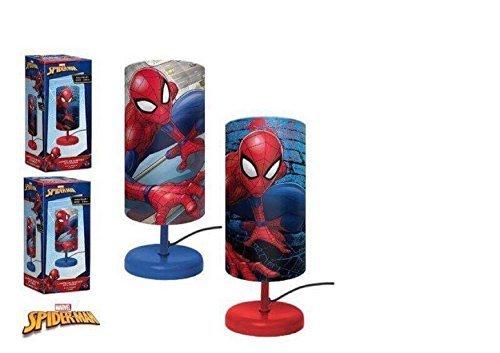 Lámpara noche cilindro Disney Spider-Man niños cámara