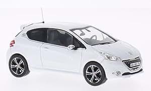 Peugeot 208 GTI, blanche, 2013, voiture miniature, Miniature déjà montée, IXO 1:43