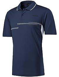Head Club–Polo para hombre camiseta, hombre, color azul marino, tamaño mediano