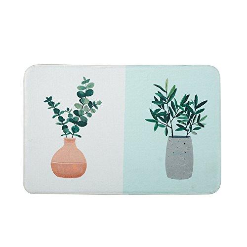 Topfpflanze frisch und literarischen Garten mat Coral samt weiche Matten, c3-60 * 90 cm (C360-speicher)
