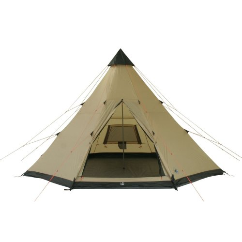 41PkFQvsmeL. SS500  - 10T Outdoor Equipment Waterproof Shoshone Unisex Outdoor Teepee Tent available in Beige  - 8 Persons
