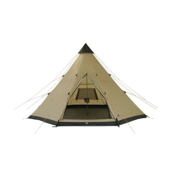 10T Outdoor Equipment Waterproof Shoshone Unisex Outdoor Teepee Tent available in Beige  - 8 Persons 3