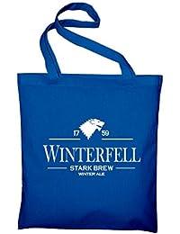 Winterfell Stark Brew Beer Ale Fan Fun GOT Jutebeutel, Brauerei, Brauerei