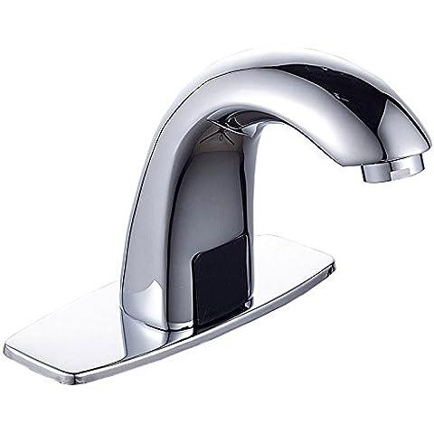BBSLT Rame di induzione intelligente automatico medicina business singola fredda rubinetto caldo e freddo lavaggio ciotola