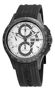 Hamilton Hommes H64656351 Khaki roi Montre chronographe cadran blanc