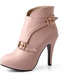 mujer para es Amazon VougeZone009UK Zapatos Botas Zapatos y qZxnOnPw