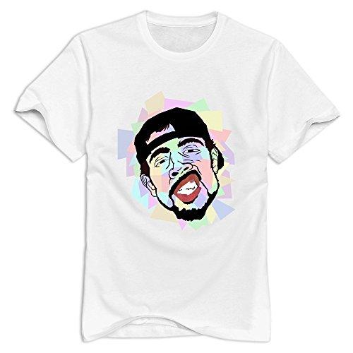 KST - T-shirt - Homme -  Blanc - Medium
