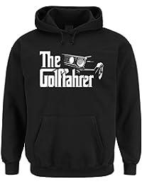 The Golffahrer Hooded-Sweater Black Certified Freak