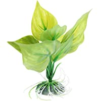 non-brand Sharplace Planta de Plástico Reptil Terrario Vivarium Ornamento Acuario Decoración ...