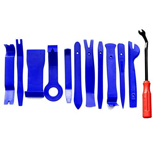 Egurs 12 Teile/Satz Auto Trim Removal Tool, Auto Panel Removal Kit für Audio Navigation Removal 12 Teile/Satz - Boot-tools
