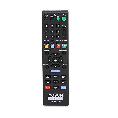 yosun-uk Generic Nuovo sostituito telecomando rmt-b118a per Sony BD Blu-ray Lettore DVD