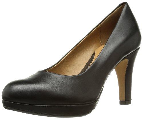 Clarks Anika Kendra 2035 Damen Pumps Schwarz (Black Leather)