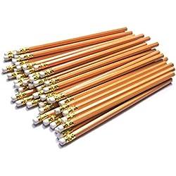 HB lápices de madera con goma de borrar, paquete de 30 lápices – para profesionales, artistas, diseñadores, profesores