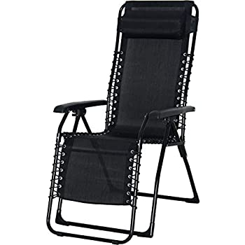 Chillax New Set Of 2 Adjustable Zero Gravity Lounge Chair