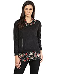 Remanika Black color Cotton Top for womens
