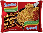 Indomie Instant Red Chili Fried Noodles, 80 g - Pack of 1
