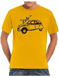 Youngtimer - Baureihe 2 CV Ente T-Shirt S-5XL div. Farben