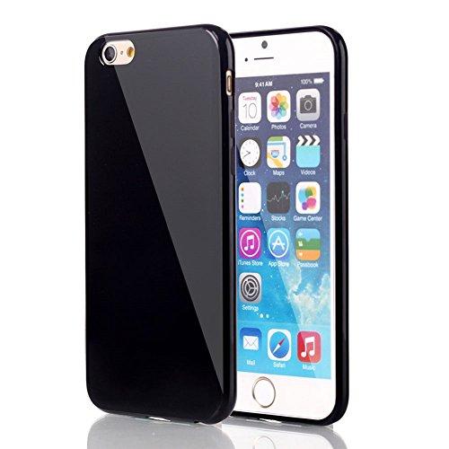 Yifeng Étui en silicone pour iPhone 6/6s, noir, iPhone 6 Plus / 6s Plus