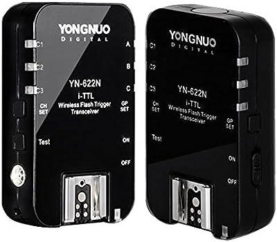Digi-express Yongnuo YN-622N 622N Control Inalámbrico de Disparo Remoto i-TTL Disparo de Flash 1/8000s Para Nikon D70 D80 D90 D200 D300 D600 D700 D800 D3000 D3100 D5000 D7100