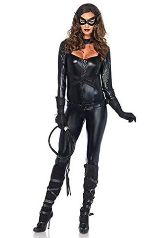 Leg Avenue 85015 - Cat Girl Kostüm, Größe S, schwarz (Cat Kostüme Amazon)