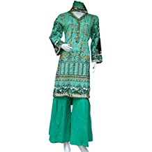 Size M Khadar Winter Wear Embroidered Readymade 3 Piece Hand Stitched Pakistani Indian Asian Suit