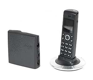 DACOMEX Telephone sans fil DECT Spécial BOX ADSL + Skype sans PC